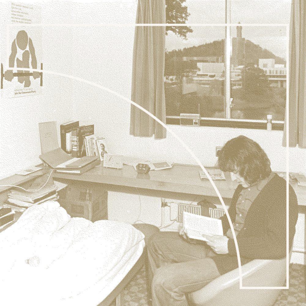 Etudiant américain années 70 (suggestion de présentation)